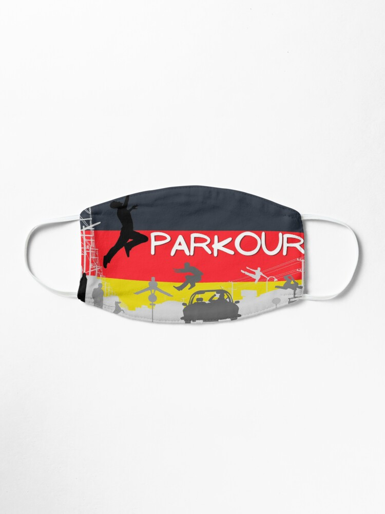 Alternate view of Parkour - Germany Mask