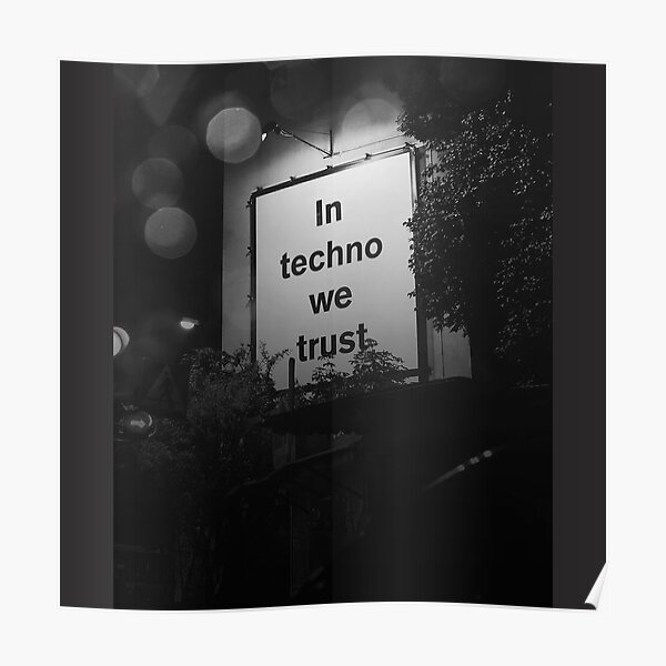Techno Póster