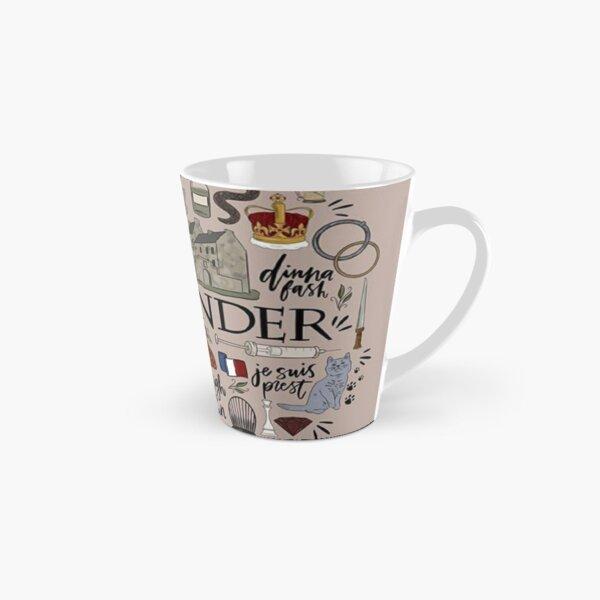 Outlander in Typography Tall Mug