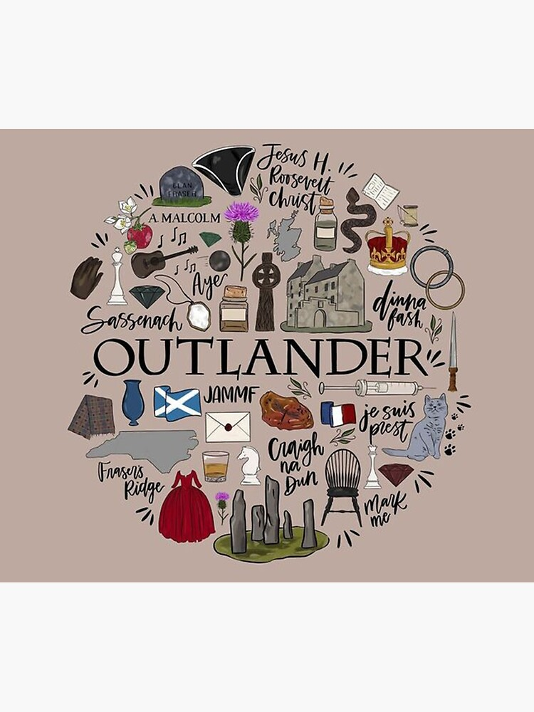 Outlander in Typography by BitOff