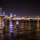 Swan City Glow by 1randomredhead