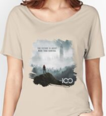 The 100 - More Than Survival Women's Relaxed Fit T-Shirt