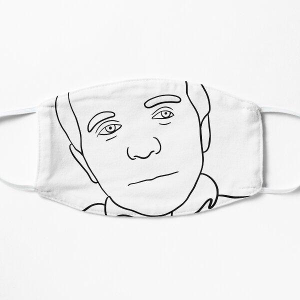 Autocollant Gilles Deleuze Masque taille M/L