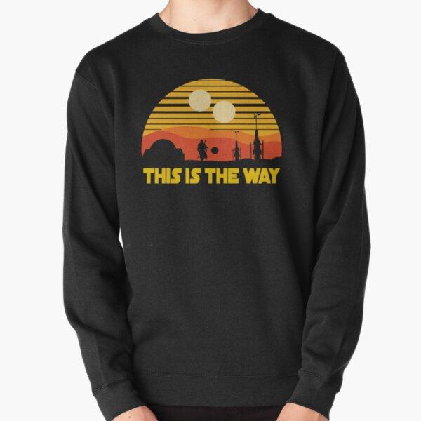 this is vintage sunset Pullover Sweatshirt