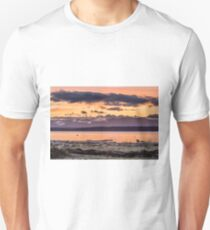 Puget Sound Sunset From Whidbey Island T-Shirt