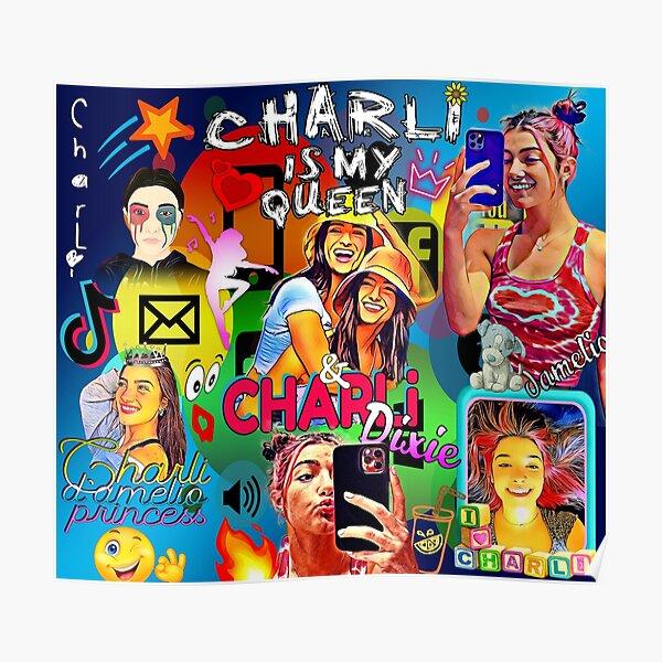 Charli damelio, lindo diseño 2021 Póster
