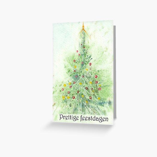 Kerstkaart 3 Greeting Card