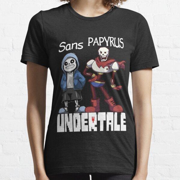 Sans et Papyrus T-shirt essentiel