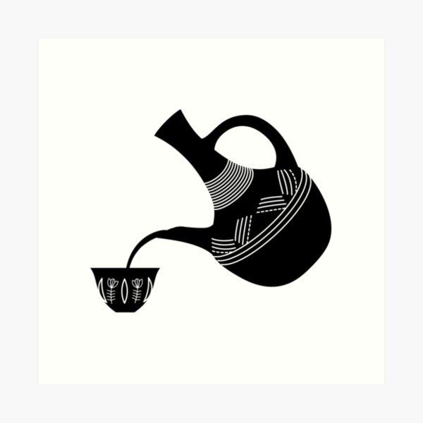 Pouring Jebena Art Print