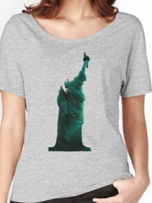 Cloverfield - Statue of Liberty Women's Relaxed Fit T-Shirt