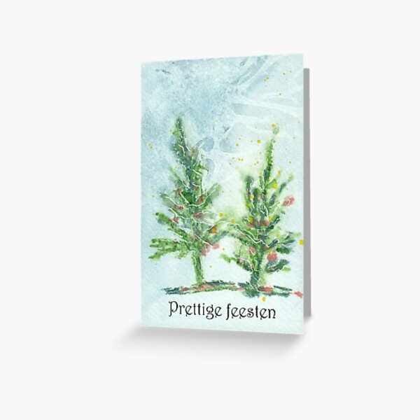 Kerstkaart 1 Greeting Card