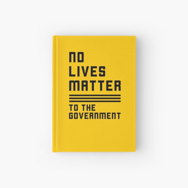 The Truth about the Government Hardcover Journal