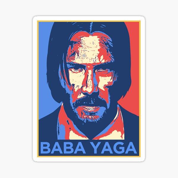 Baba Yaga Pegatina