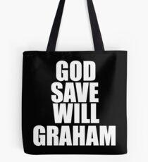 GOD SAVE WILL GRAHAM - Hannibal Tote Bag