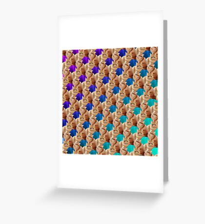Moofabulousss Greeting Card