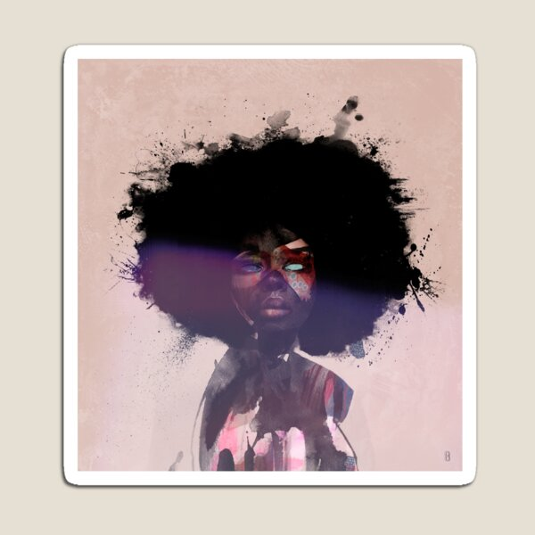 Afro Funk Magnet