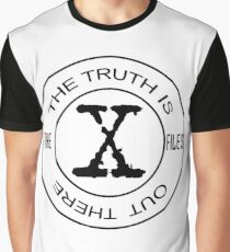 X-Files The Truth Is Out There Graphic T-Shirt