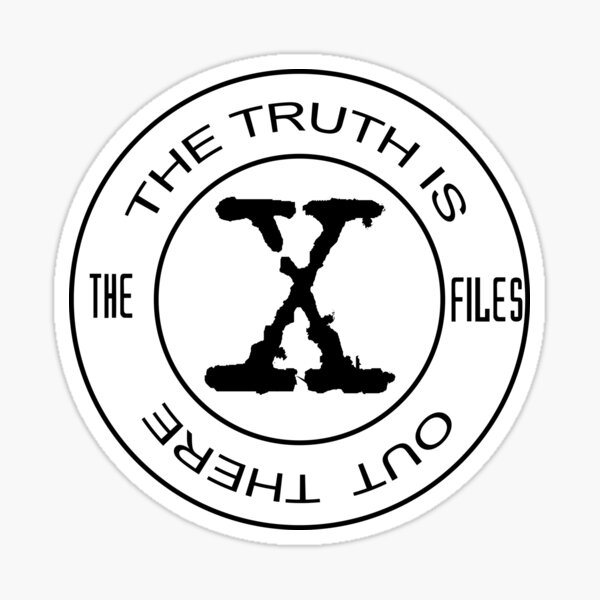 X-Files The Truth Is Out There Sticker