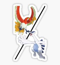 Ho-oh vs. Lugia Sticker