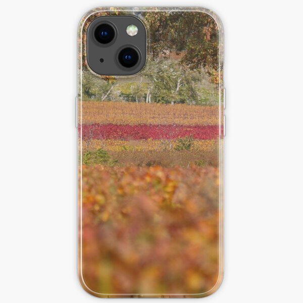 The thin red line. iPhone Soft Case