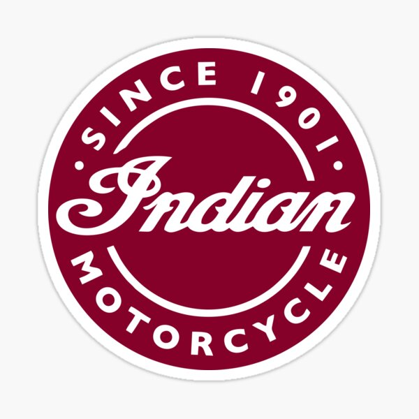 MEJOR PARA COMPRAR - Indian Motorcycle Pegatina