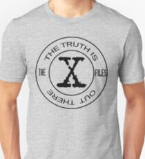 X-Files The Truth Is Out There Unisex T-Shirt