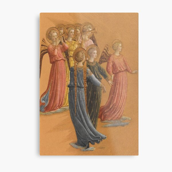 Fra Beato Angelico Angels Metal Print