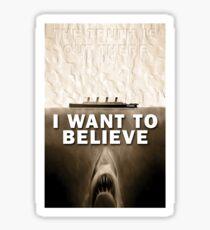 Titanic Truth Sticker