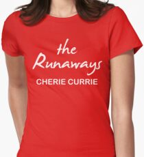 The Runaways Cherie Currie Womens Fitted T-Shirt