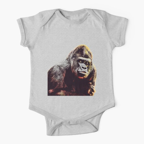 cute /& funny Gorilla Graphic tee Baby Kids Youth Unisex Shirt Toddler Infant