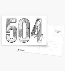 504 Postcards