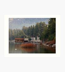 Fall in South Lake Tahoe Art Print