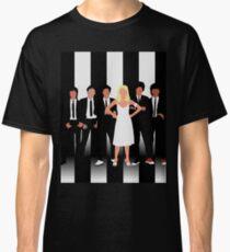 Minimalist Parallel Lines Classic T-Shirt