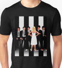 Minimalist Parallel Lines Unisex T-Shirt