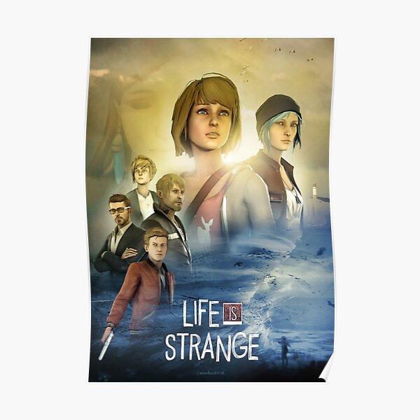 La vie est étrange affiche cinématographique Poster