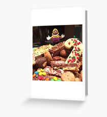 King of Cookies Greeting Card