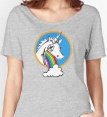 Drunk Unicorns Make Rainbows! Women's Relaxed Fit T-Shirt