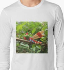 A Wild Yanma Appears! Long Sleeve T-Shirt