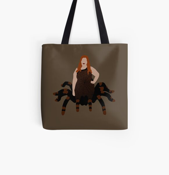Plus Size Halloween - Spider All Over Print Tote Bag
