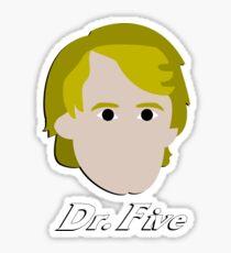 Dr. Five Sticker