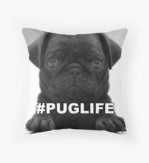 #PUGLIFE Throw Pillow