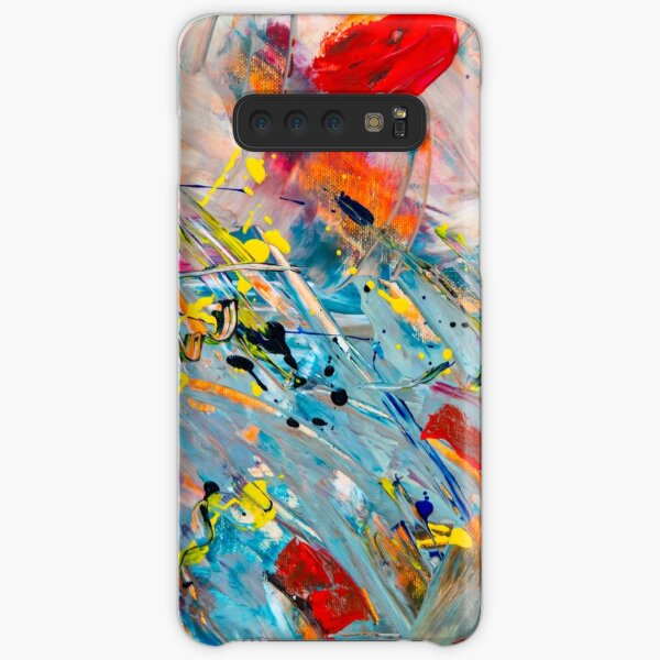 colorful paint Samsung Galaxy Snap Case