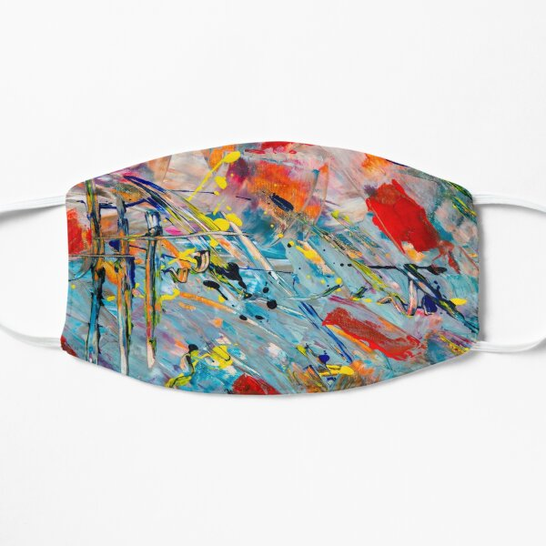 colorful paint Mask
