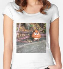 Goomba Takes a Day Off Women's Fitted Scoop T-Shirt