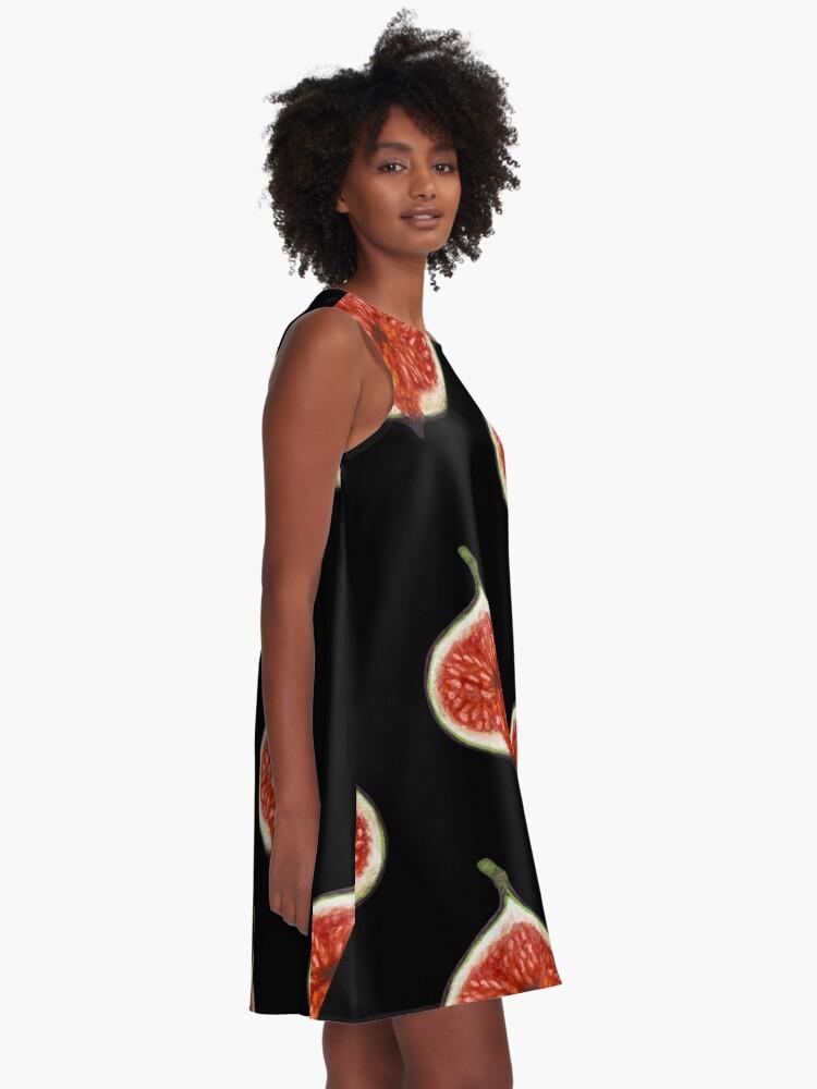 Alternate view of Pomegranate Pattern  A-Line Dress