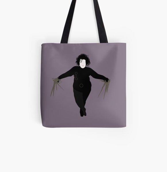 Plus Size Halloween - Scissorhands All Over Print Tote Bag