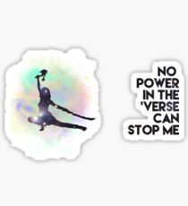 River Tam - No Power in the 'Verse (Colorful Cosmos) Sticker