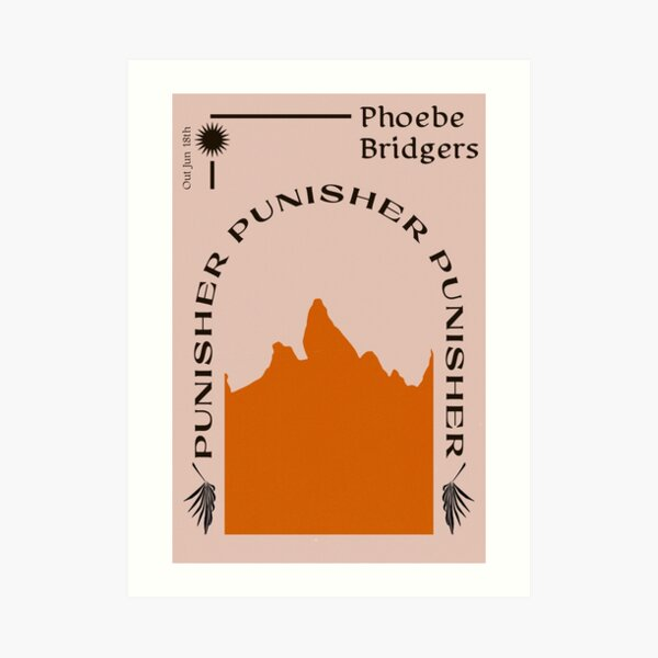 Phoebe Bridgers Punisher Art Print