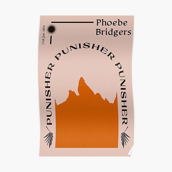 Phoebe Bridgers Punisher Poster