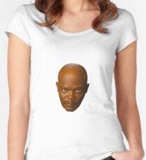 Samuel L. Jackson Women's Fitted Scoop T-Shirt